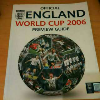 🚚 Official England World Cup 2006 Preview Guide