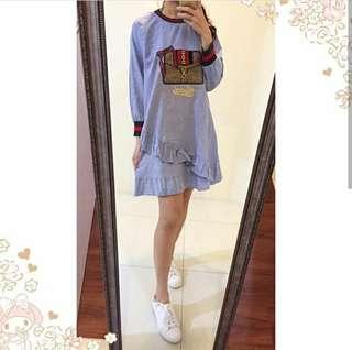 BB Gucci Bag Rampel Dress