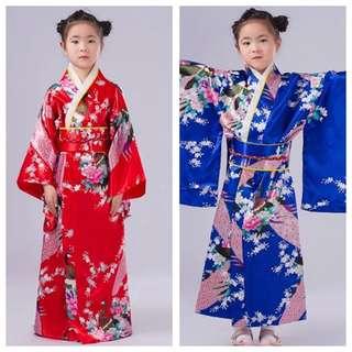 IN STOCK Japanese Kimono girls Kimono Traditional Costume Racial Harmony day costume Japanese costume