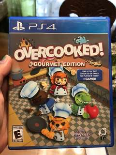 Overcooked PS4 game