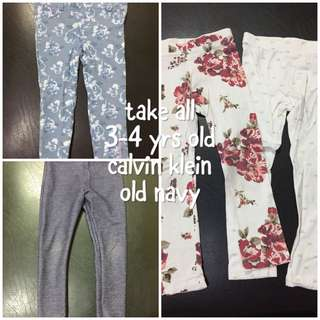 Calvin Klein & Old Navy skinny pants & leggings
