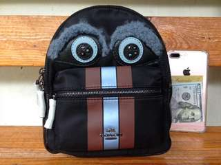 New! Authentic Coach owl backpack