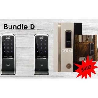 Value Bundle Digital Door Lock - Dual Gateman WE40 (Card & PIN)