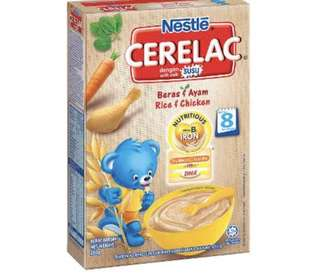 Brand new nestle cerealac (rice and chicken)