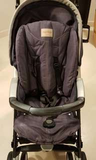 Pre-loved Peg Perego Denim Stroller