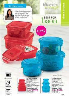 3-pc Food Container