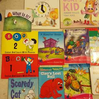 Story Books phonics etc for 2 yrs old onwards