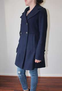 DKNY Navy Winter Coat