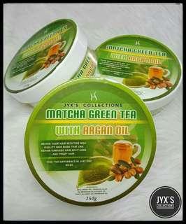 Matcha green hair mask