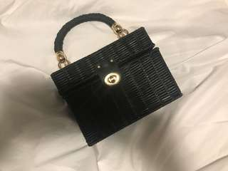 ZARA wicker bag