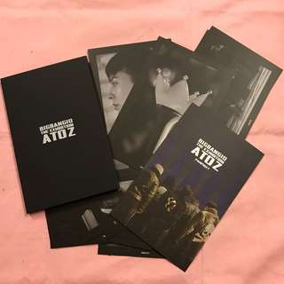 Bigbang A to Z Exibition Postcard Set