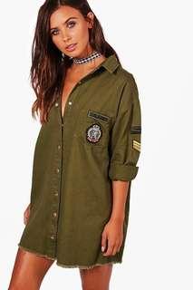 BNWT Military Jacket / dress size 8