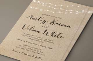 🚚 Simple & Sophisticated Wedding Cards