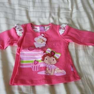 Strawberry shortcake long sleeve shirt