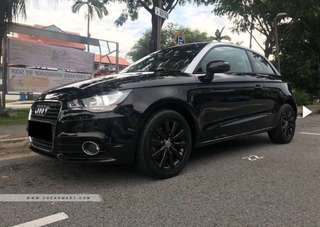 Audi A1 car rental car for rent