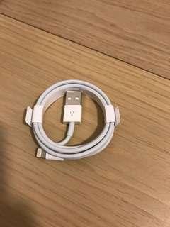 iPhone 正廠叉電線(全新)