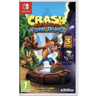 Crash Bandicoot N Sane Trilogy (Nintendo Switch)