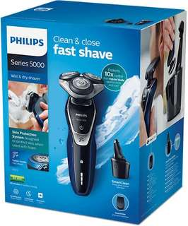 [CHEAP] Philips 5000 Wet and Dry Shaver with Smart Clean System - negotiable