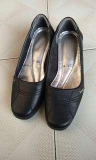 Sepatu Vantofel (Pantofel) Hitam cocok buat kerja #maudecay