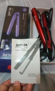 🎊PROMO 45rb🎊 Sayota Catokan Pelurus Rambut | Size Travel / Mini Size Warna Merah