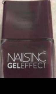 Brand New Naisinc Gel Effect Nail Polish
