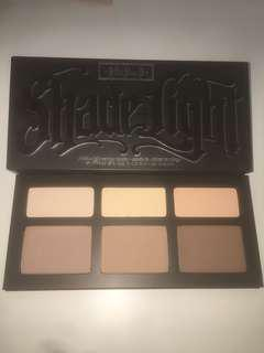 KVD shade and light contour palette in light