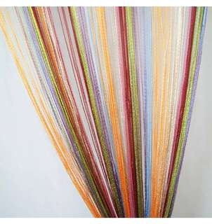 Change Ambience of your room with multicoloured curtain