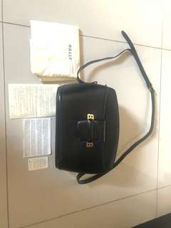 Bally leather sling bag( used once)