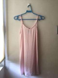 Factorie pink slip dress