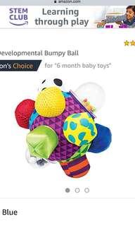 Developmental bumpy ball