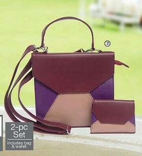 [SET]Jewel 2-pc Bag Set