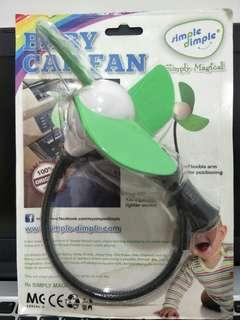 Simple Dimple Baby Car Fan