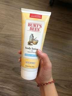 Burt's bee body lotion