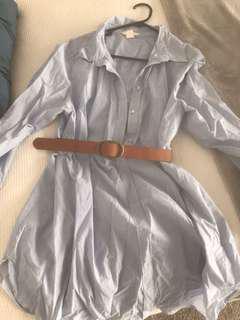 Shirt dress size L