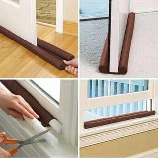 Twin Dust Shield for Door and Window