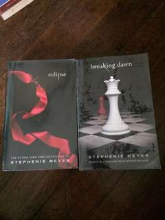Twilight Saga Eclipse and Breaking Dawn