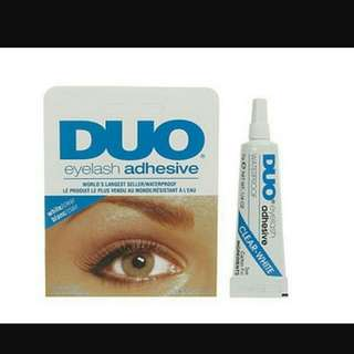 Duo glue lashes