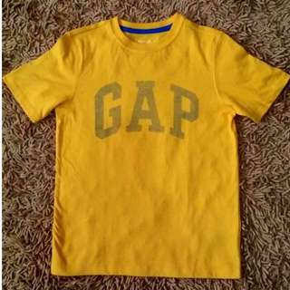 BNWOT Authentic Gap Logo Shirt Boys / Kids Medium 8-9T Yellow