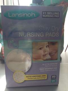 Lansinoh stay dry breast pads