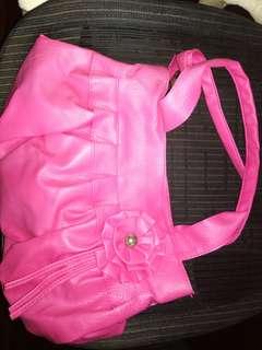 🚚 粉紅手提袋、包包