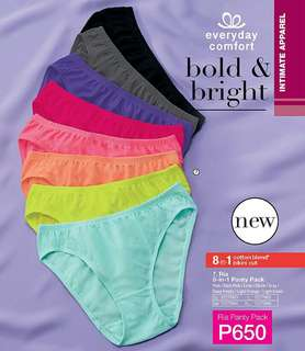Ria 8-in-1 Panty Pack
