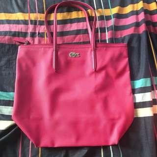 Original Lacoste Vertical Shopping Bag