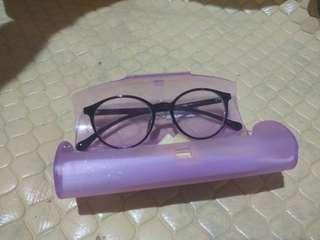 Kacamata nerdy lensa minus 0.75 no barter
