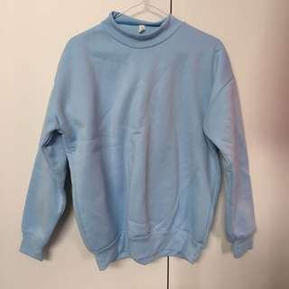 Light blue sweatshirt