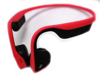 🚚 Aftershokz Trekz Titanium - red headphones