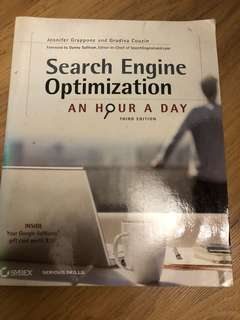 Search engine optimization, an hour a day (3rd edition)