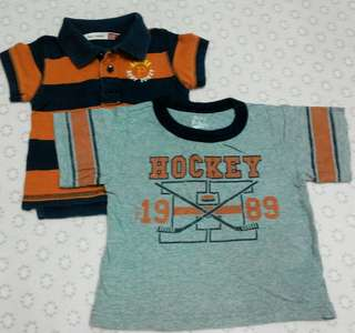 Boys T-Shirt Set 6-12m