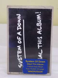 Kaset Tape System Of A Down