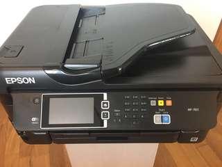 EPSON WF-7611 inkjet printer/scanner