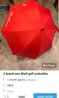 Sheel V Power umbrella